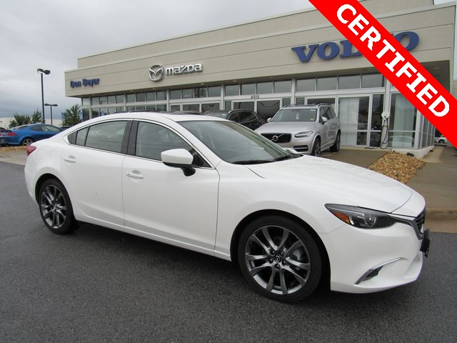 Certified Pre-Owned 2017 Mazda6 Grand Touring CPO