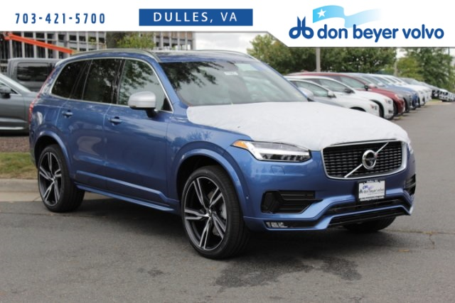 New 2019 Volvo Xc90 T6 R Design With Navigation Awd