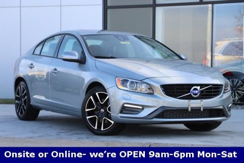 Certified Pre-Owned 2017 Volvo S60 T5 Dynamic, Vision, Blind Spot, Navigation With Navigation & AWD