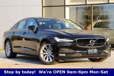 Certified Pre-Owned 2017 Volvo S90 T6 Momentum Plus,Climate,Vision,Convenience With Navigation & AWD